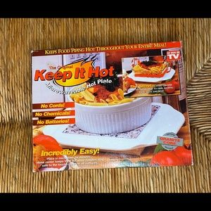 COPY - Keep It Hot Hot Rock Microwave Hot Plate G…